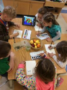 Adventures In Kindergarten Uses Artwork From Colleen Kammerer To Teach Young Students